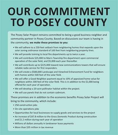 Our Commitment to Posey County